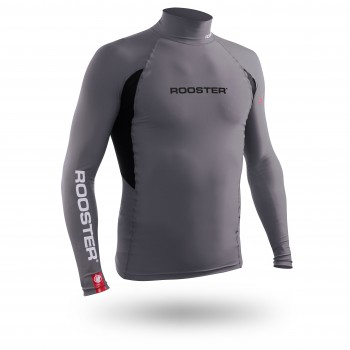 Rash Vest Long Sleeve - Grey