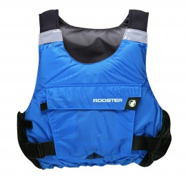 Signal Blue Diamond Buoyancy Aid (side zip)