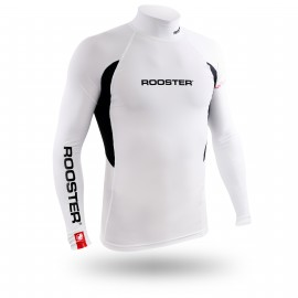 Rash Vest Long Sleeve - White