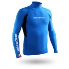Rash Vest Long Sleeve - Blue